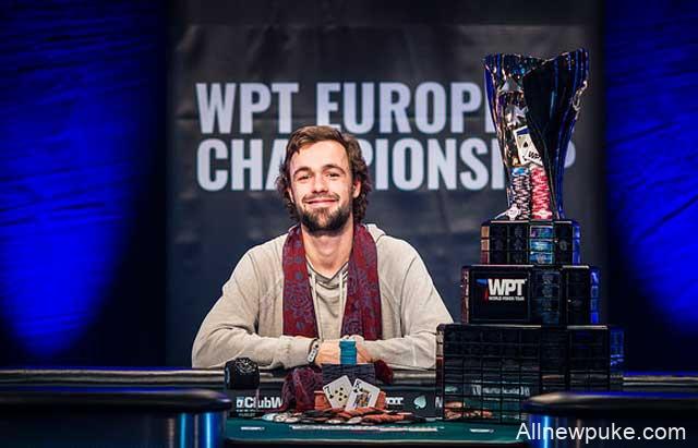 蜗牛扑克:OLE SCHEMION取得 WPT欧洲扑克锦标赛主赛冠军