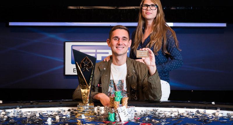 【蜗牛棋牌】Piotr Nurzynski取得2018EPT巴塞罗那站主赛事冠军