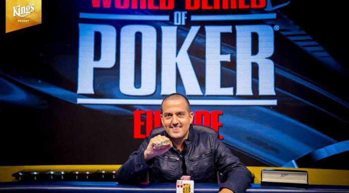 【蜗牛棋牌】WSOPE:Tamir Segal取得巨人赛冠军,入账€203,820
