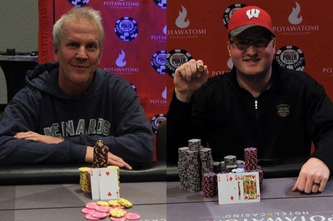 【蜗牛棋牌】父子Brett和Josh Reichard在WSOPC伯塔瓦托米站中分别斩获冠军!