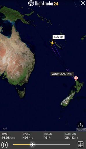 【蜗牛棋牌】新西兰航空飞上海航班起飞后返航:未获落地许可