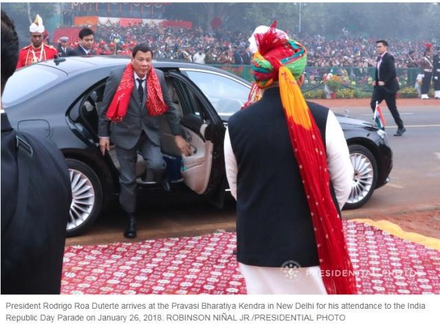 【蜗牛棋牌】为庆祝杜特尔特到访印度全国放假?菲媒:假新闻