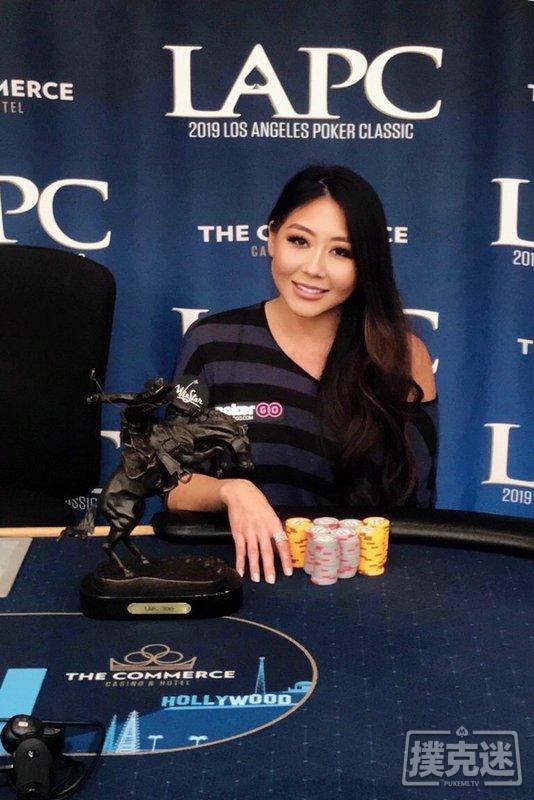 【蜗牛棋牌】Maria Ho生日当天击败对手斩获LAPC豪客赛冠军