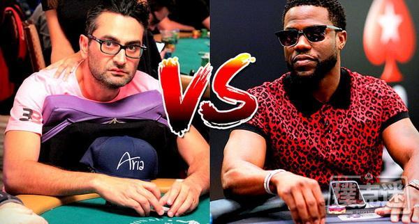 【蜗牛棋牌】Antonio Esfandiari & Kevin Hart拳击对赌:我希望自己一个勾拳能够打倒他