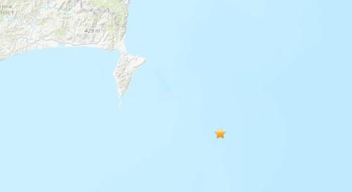 【蜗牛棋牌】新西兰东北海域发生5.2级地震 震源深度10公里