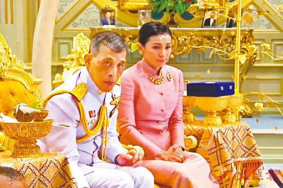 【蜗牛棋牌】泰王第四任新娘是自己保镖 两人此前曾