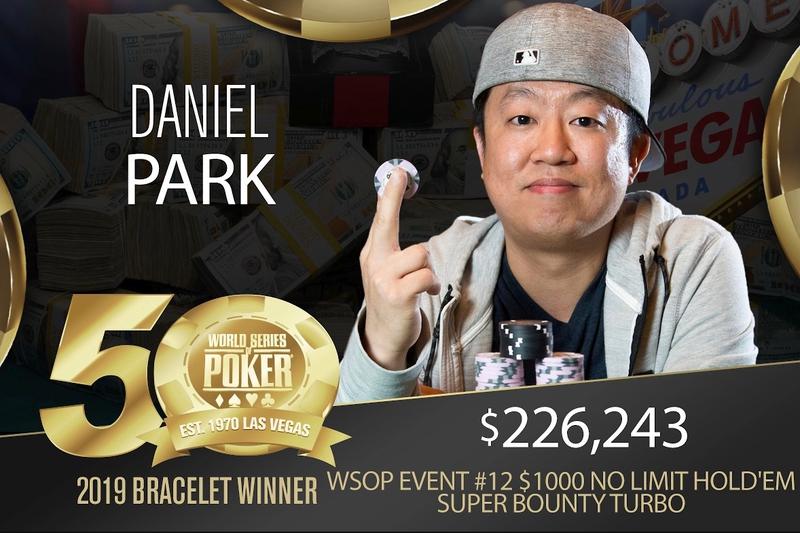 【蜗牛棋牌】Daniel Park赢得2019 WSOP http://www.woniuqipai.com/wp-content/uploads/2019/06/1559829045307677.jpg,000超高额涡轮红利赛冠军,奖金6,243