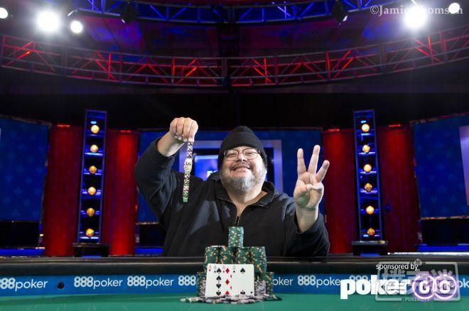 【蜗牛棋牌】WSOP奥马哈第一人Frankie O'Dell获第三条金手链