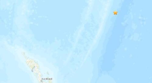【蜗牛棋牌】新西兰北部海域发生5.3级地震 震源深度35公里