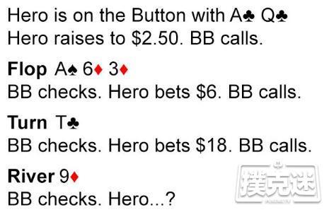 【蜗牛棋牌】扑克小测验:Upswing常规桌入学考试