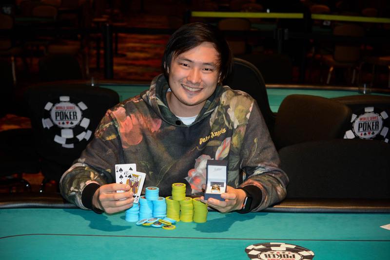 【蜗牛棋牌】Stephen Song:辍学打牌,23岁收获WSOP金手链