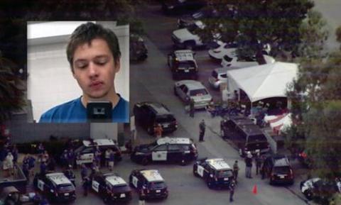 【蜗牛棋牌】美国加州枪案凶手正面照曝光 曾发表白人至上内容