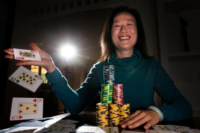 【蜗牛棋牌】Sosia Jiang:传奇伦敦百万慈善赛的唯一女将
