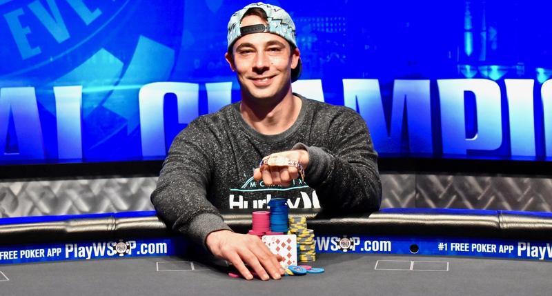 【蜗牛棋牌】Ryan Eriquezzo收获个人第二个WSOP-C全球娱乐场锦标赛冠军!
