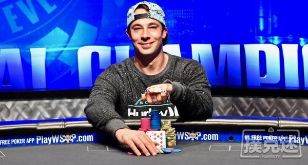 【蜗牛棋牌】Ryan Eriquezzo收获第二个WSOPC锦标赛冠军
