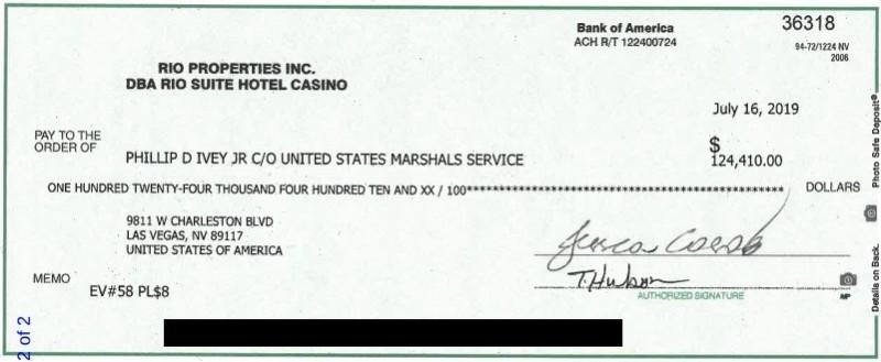 【蜗牛棋牌】Phil Ivey & 百家塔案件最新进展:百家塔成功扣押Ivey的PPC奖金