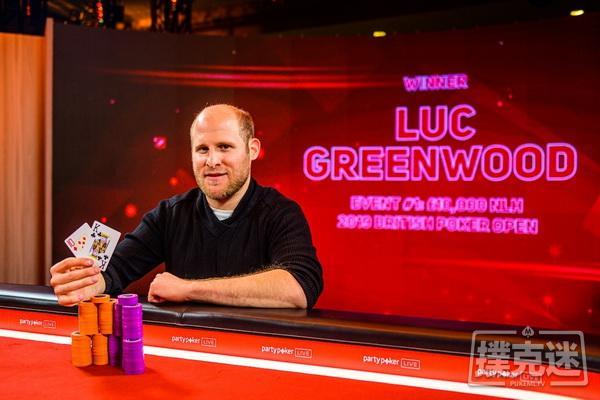 【蜗牛棋牌】Luc Greenwood斩获英国扑克公开赛首冠