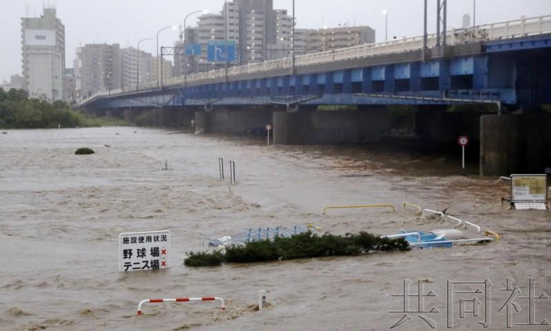 """【蜗牛棋牌】""""海贝思""""致日本26人遇难 新干线被淹或整车报废"""