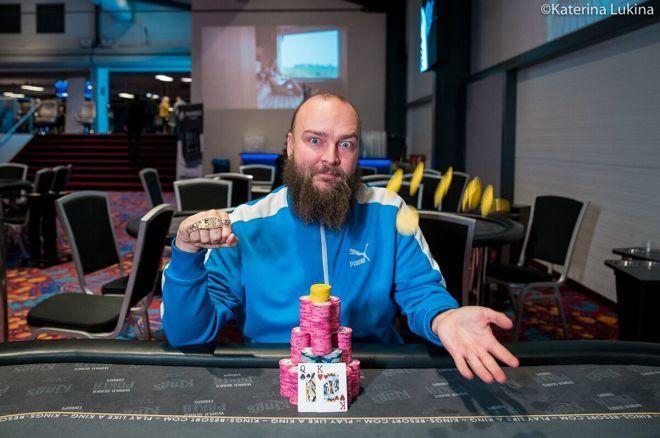 【蜗牛棋牌】Tomas Fara夺冠第7项赛事:从一个大盲到一条金手链
