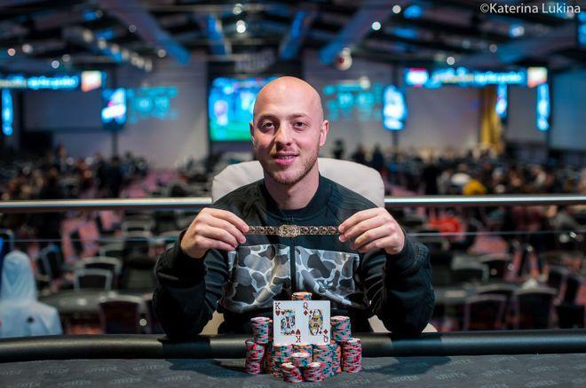 【蜗牛棋牌】Vangelis Kaimakamis赢得WSOPE Mini主赛胜利,入账€167,056