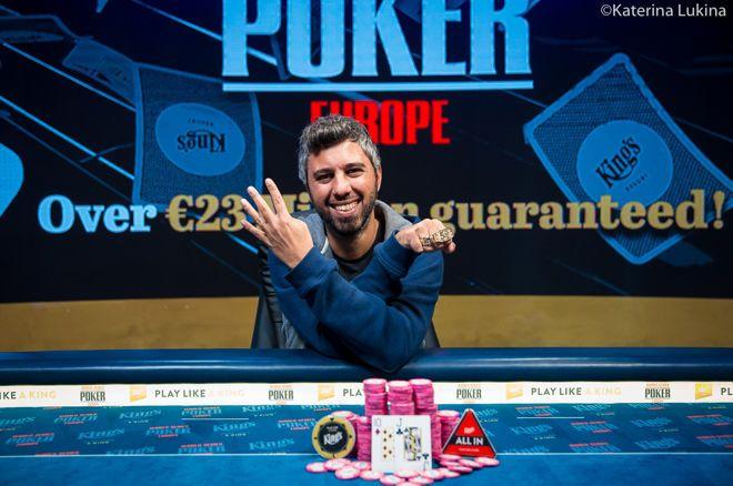 【蜗牛棋牌】Asi Moshe赢得€1,650 PLO/NLHE混合赛冠军,收获职业第4条金手链
