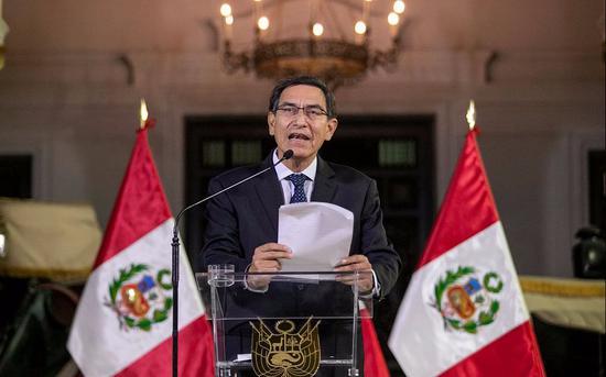 【蜗牛棋牌】秘鲁宪法危机加深 副总统辞职