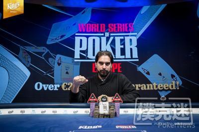 【蜗牛棋牌】Alexandros Kolonias斩获WSOPE主赛冠军,揽获奖金€1,133,678