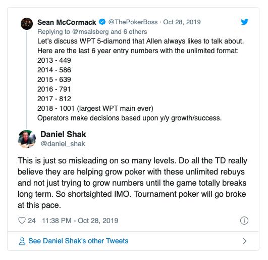 【蜗牛棋牌】再买入和延迟报名时间赛事有伤害到扑克经济吗?