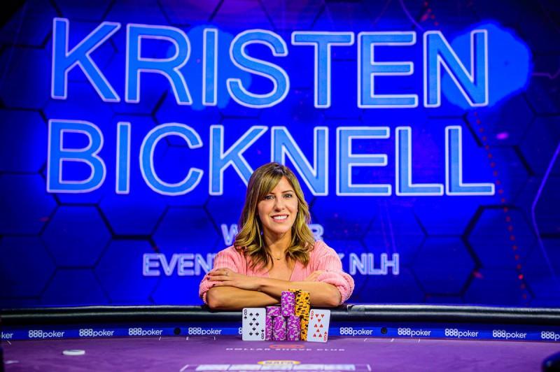 【蜗牛棋牌】牌坛战姬:Kristen Bicknell斩获扑克大师赛K NLH桂冠,Chance Kornuth又双叒叕荣获亚军