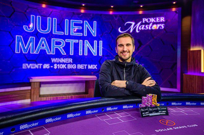 【蜗牛棋牌】Julien Martini赢得2019扑克大师赛第5项赛事,000 Big Bet Mix胜利