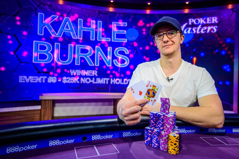 【蜗牛棋牌】扑克大师赛:Kahle Burns斩获,000 NLH胜利,Sam Soverel领跑玩家排行榜