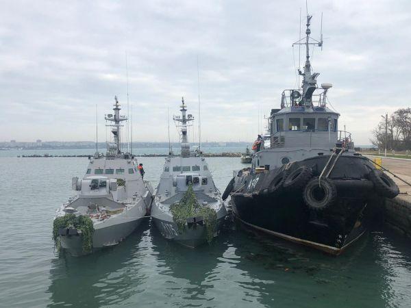 【蜗牛棋牌】俄方将归还去年在刻赤海峡扣押的3艘乌克兰军舰