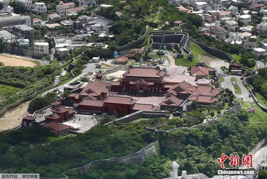 【蜗牛棋牌】日本首里城火灾一周后 已获逾3亿日元募捐