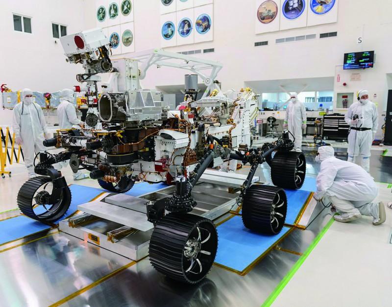 【蜗牛棋牌】美国新版火星车明年7月出征 将采集土壤样本