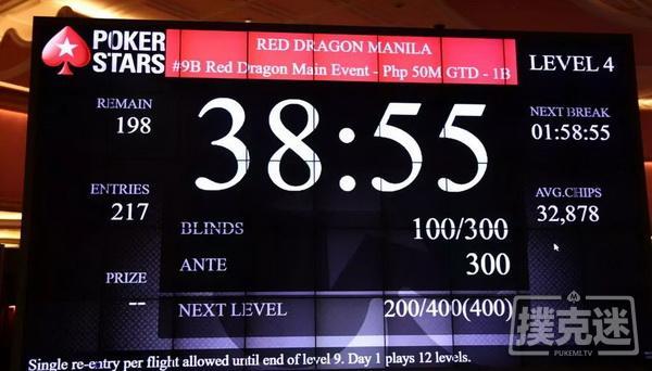 【蜗牛棋牌】红龙杯马尼拉 | 主赛事强势破保,奖励圈诞生,冠军独享13815070比索!