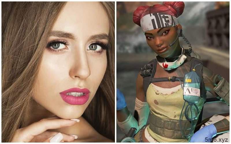【蜗牛棋牌】立陶宛美女cosplay《Apex 英雄》生命线遭封锁 涂黑脸被疑种族歧视