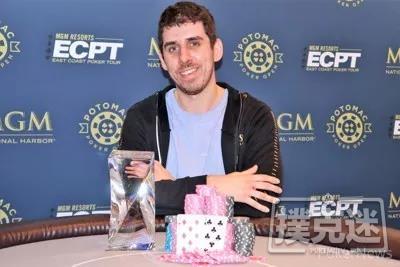 【蜗牛棋牌】Matthew Sesso获得Potomac冬季扑克公开赛主赛冠军