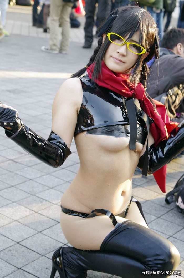 【蜗牛棋牌】扮成谁都已经不重要了 「露出度」是何物的日本Cosplay现场