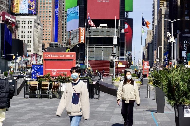 【蜗牛棋牌】美国纽约市长:建议在公共场合掩盖口鼻