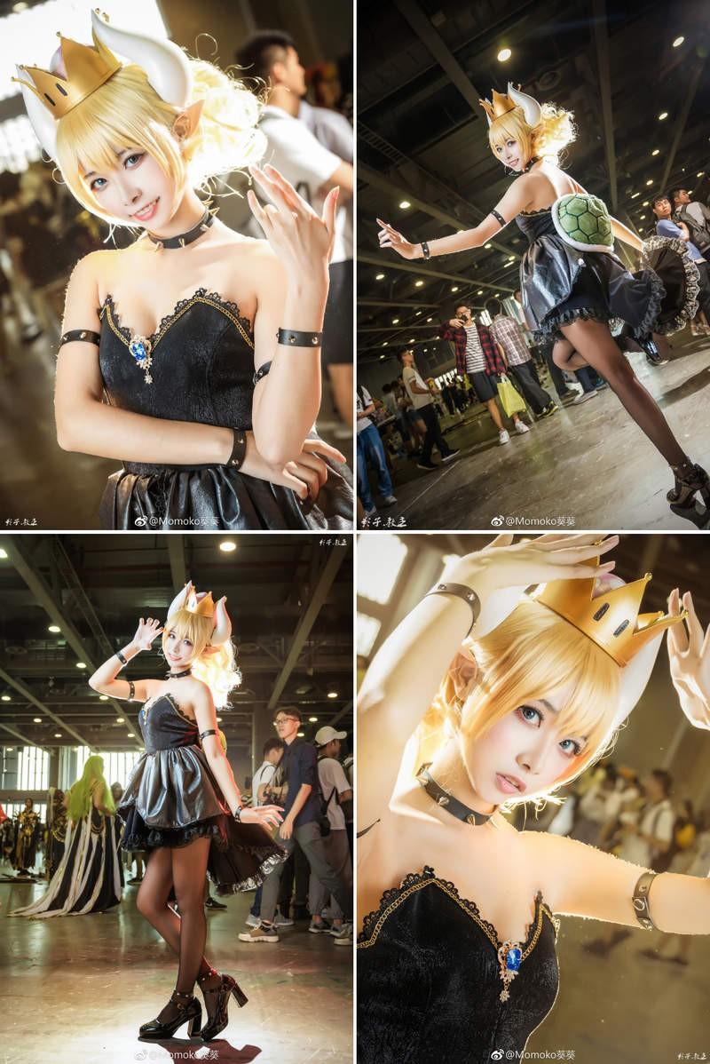 【蜗牛棋牌】Momoko葵葵cosplay《不起眼女主角培育法》 Coser高度还原角色