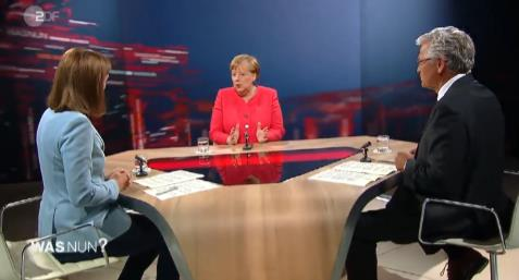 【蜗牛棋牌】德国总理默克尔:美国两极分化严重