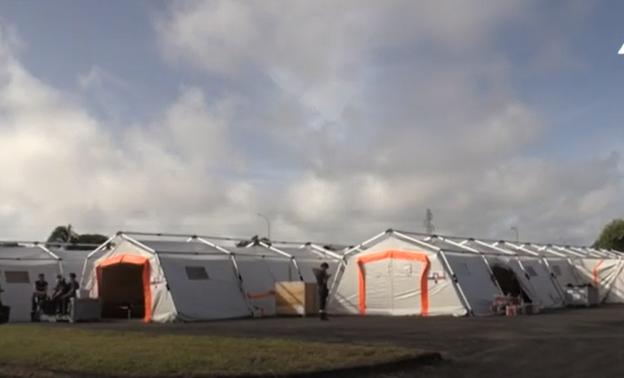 【蜗牛棋牌】法属圭亚那建立野战医院 用于接诊非新冠感染患者