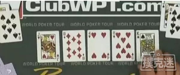 【蜗牛棋牌】德州扑克史上最打脸牌局:一切反转都可能发生