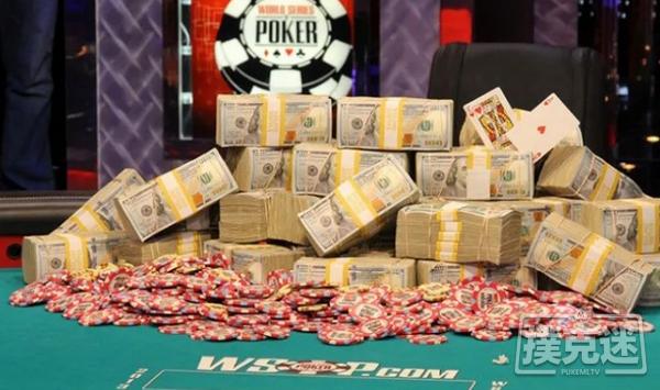 【蜗牛棋牌】WSOP主赛事打破了2500万的保证金,冠军将独享390万美元