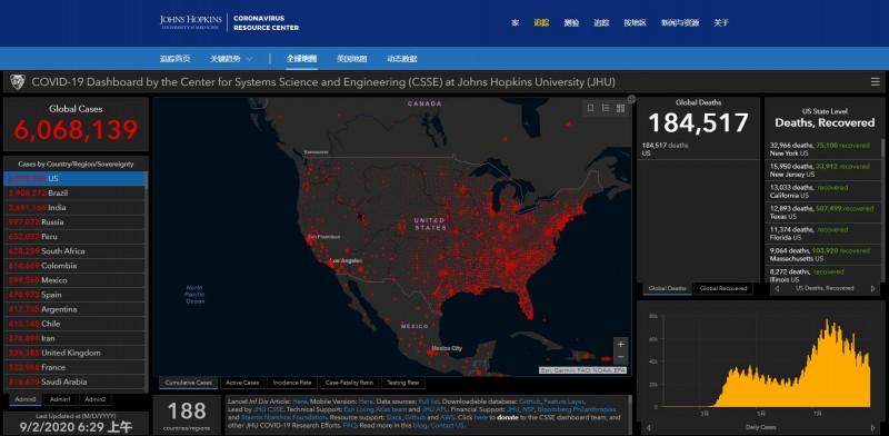 【蜗牛棋牌】美国新增新冠肺炎确诊病44771例、死亡病例1086例