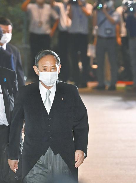 """【蜗牛棋牌】菅义伟出任日本首相,新内阁阵容凸显""""继承路线"""""""