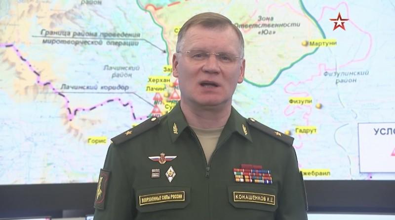 【蜗牛棋牌】俄罗斯国防部:俄军维和部队已进入纳卡地区首府