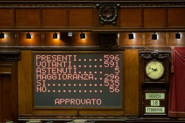 【蜗牛棋牌】意大利新政府通过众议院信任投票