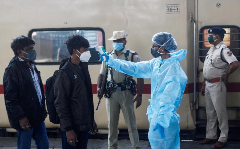 【蜗牛棋牌】印卫生官员:印度各地发现240种变异新冠病毒