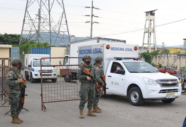 【蜗牛棋牌】厄瓜多尔多所监狱发生骚乱 至少50名服刑人员死亡